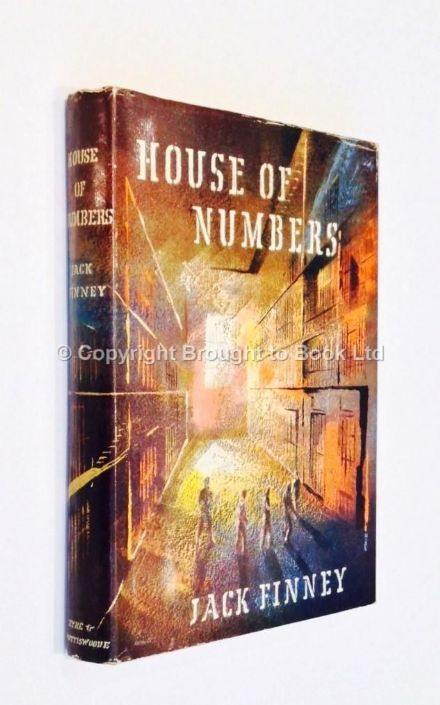 The House of Numbers by Jack Finney First Edition Eyre & Spottiswoode 1957